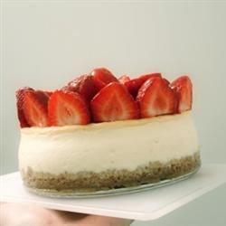 Two Step Creamy Cheesecake