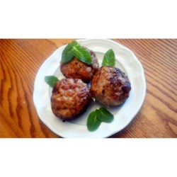 Margaret's Keftedes (Greek Meatballs)