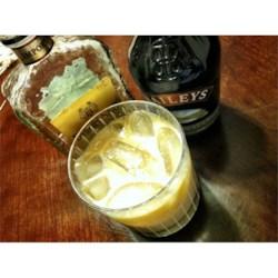Irish Spritzer Recipe - A splash of soda gives a slight fizz to this drink featuring amaretto and irish cream liqueur.
