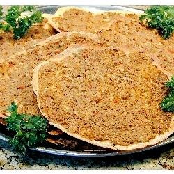 Armenian Pizza (Lahmahjoon)