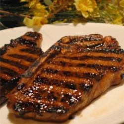 The Best Marinade Around Recipe - Soy sauce, olive oil, lemon, and garlic are combined for a one-hour steak marinade. Marinate less tender cuts of steak for longer. Recipe can be multiplied.