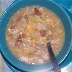 Michelle's Blonde Chicken Chili