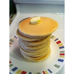 Pancakes II Recipe - My sister taught me how to make these. They are the best pancakes in the world. Enjoy! You may also add fruit to the pancake batter before grilling the pancakes.