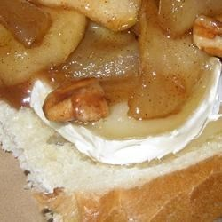 Toasted Apple-Pecan Brie Sandwiches