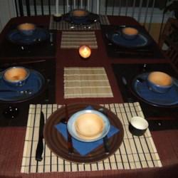 Asian Potluck Table Setting