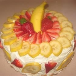 Strawberry Banana Split Cheesecake