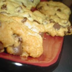 Golden Chocolate Chip Cookies Recipe - If you're looking for a chocolate chip cookie recipe that uses a lower amount of butter than others, try this golden recipe with nuts.