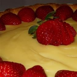 Pastry Cream Recipe - This is a classic pastry cream often used in bakeries and restaurants. It can be used as a filling for cakes, pies, and breakfast pastries. To make a lighter filling for cream puffs and eclairs, fold in plain whipped cream.