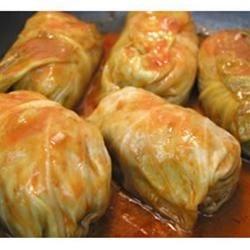 Barb' Stuffed Cabbage Rolls
