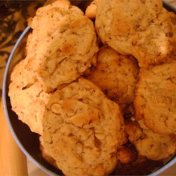 Cooky Cookies Recipe - This is an ultra-short, yet wonderfully chewy and incredibly rich cookie!  It is one of the most popular cookies I make, especially with adults (kids are usually not so fond of the nuts).
