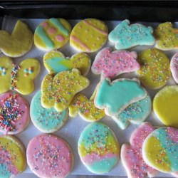 Pourable sugar cookie icing recipe