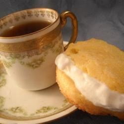 Cream Tea Cakes Recipe - Sandwich these scones in pairs with raspberry jam. A dollop of clotted cream on top, a pot of strong tea, aahhh!
