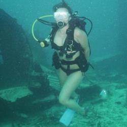 Scuba diving in Aruba!