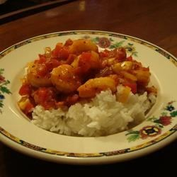 Shrimp Provencal Recipe - The flavors of Provence come through in this dish: olive oil, tomatoes, onions, and thyme!