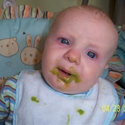 Enough with the peas Mama!