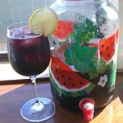 """Calimocho (Kalimotxo) Recipe - """"Calimocho, or kalimotxo, is a very popular Spanish cocktail that is served in many bars and prepared by Spanish youth during traditional 'botellon' parties.  Calimocho originated in the Basque region of Spain but has spread throughout the entire country and to many other parts of the world.  Coca-Cola is the 'authentic' cola for preparing calimocho, but any cola will work."""""""