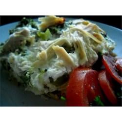 Broccoli Hash Brown Quiche