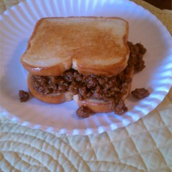 Homemade Sloppy Joes Recipe and Video - Despite the name of this iconic retro dish, the secret to a great sloppy joe is a thick, rich, almost dry consistency, which allows the sandwich to be eaten with your hands. Serve on hamburger buns.