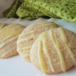 Princess Cookies Recipe - Light little lemon cookies are fit for a prince or princess.