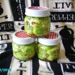 Zesty Pickled Brussels Sprouts Recipe - Zippy pickled Brussels sprouts are a great accompaniment to any meal.