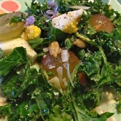 Raw Kale Breakfast Salad