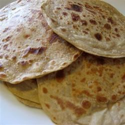 Potato Chapati Bread Recipe - Use leftover mashed potatoes in this flavorful whole wheat flatbread.
