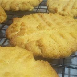 Old School Peanut Butter Cookies