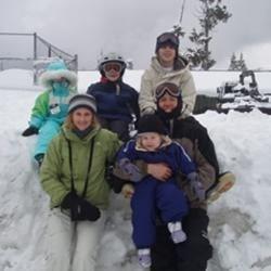 Snow fun at Mt Hood  oregon!