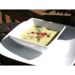 Cream of Asparagus and Mushroom Soup