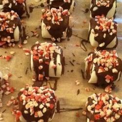 Chocolate Peppermint Bark Marshmallows