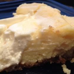 Creamy Cheese Pie Recipe -   There 's just three easy steps to make this rich, creamy pie. First make the graham cracker crust. Then whip up the very creamy, cream cheese filling, and bake. And finally, frost with a sweetened sour cream topping.