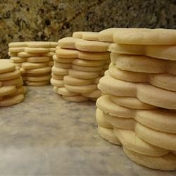 Getting Read to Ice Sugar Cookies