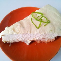 Key Lime Pie VIII Recipe - Fresh lime juice, oodles of grated lime rind, vanilla pudding, and whipped topping make the difference in this version of key lime pie made with sweetened condensed milk. After two hours in the fridge, it 's ready to wow your guests. Decorate with thinly cut slices of lime and whipped topping.