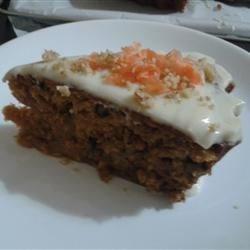 Sam's Carrot Cake - Round cake