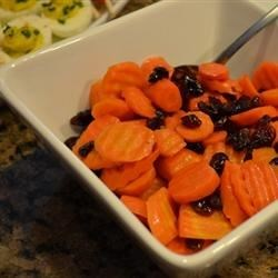 Carrots with Dried Cherries