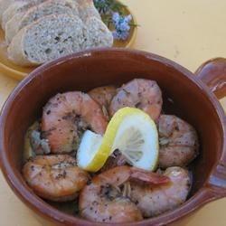Mimosa's Mama's Friend, Eddie Ann's Bayou Barbeque Shrimp