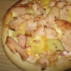 Chicken and Artichoke Pizza