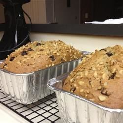 Zucchini Bread Recipe - Sour cream adds richness and tangy flavor to this moist sweet bread.