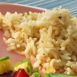 Semi-Indulgent Easy Brown Rice Recipe - This quick and easy brown rice dish is perfect as a side dish to chicken or fish and is ready in less than twenty minutes.