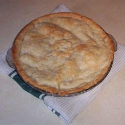 Apple Pie I prepared by my husband