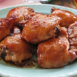 Oven Roasted Teriyaki Chicken Recipe - Chicken pieces are coated with a homemade teriyaki sauce and baked to perfection in the oven. Easy to double for a large group.