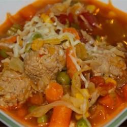 Hearty Meatball Soup II