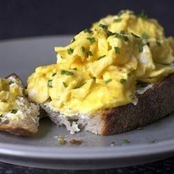Microwaved Scrambled Eggs
