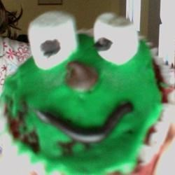 frog cupcakes are adorable!