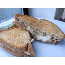 Hot Portobello Mushroom Sandwich