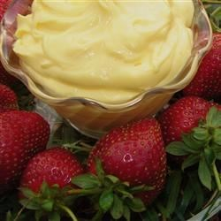 Fluff Dip for Fruit Recipe - A lovely vanilla flavored dip for fresh fruit.  A friend shared this recipe with me.   Especially good with strawberries, pineapple and bananas.