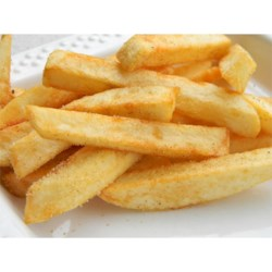 Chef John's French Fries Recipe and Video - Frying the potatoes twice gives these french fries a crispiness not normally achieved in home cooked fries.