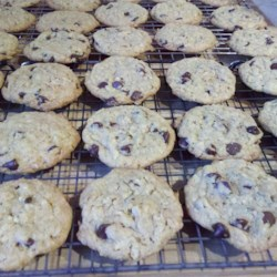 Everything Cookies II Recipe - This recipe is great for any large gathering, parties, church functions, holidays, as it yields dozens (I'm not sure how many, we make LARGE cookies and it makes 2-3 dozen).