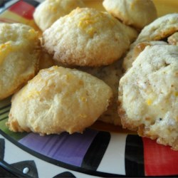 Lemonia Cookies Recipe - A real old fashioned lemon cookie that uses bakers' ammonia as leavening. It is not widely available like it once was, but can often be found at the drugstore.