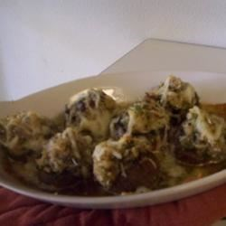 Bob's Stuffed Mushrooms Recipe - These clam and cheese-stuffed mushroom taste better than that famous American-Italian restaurant!